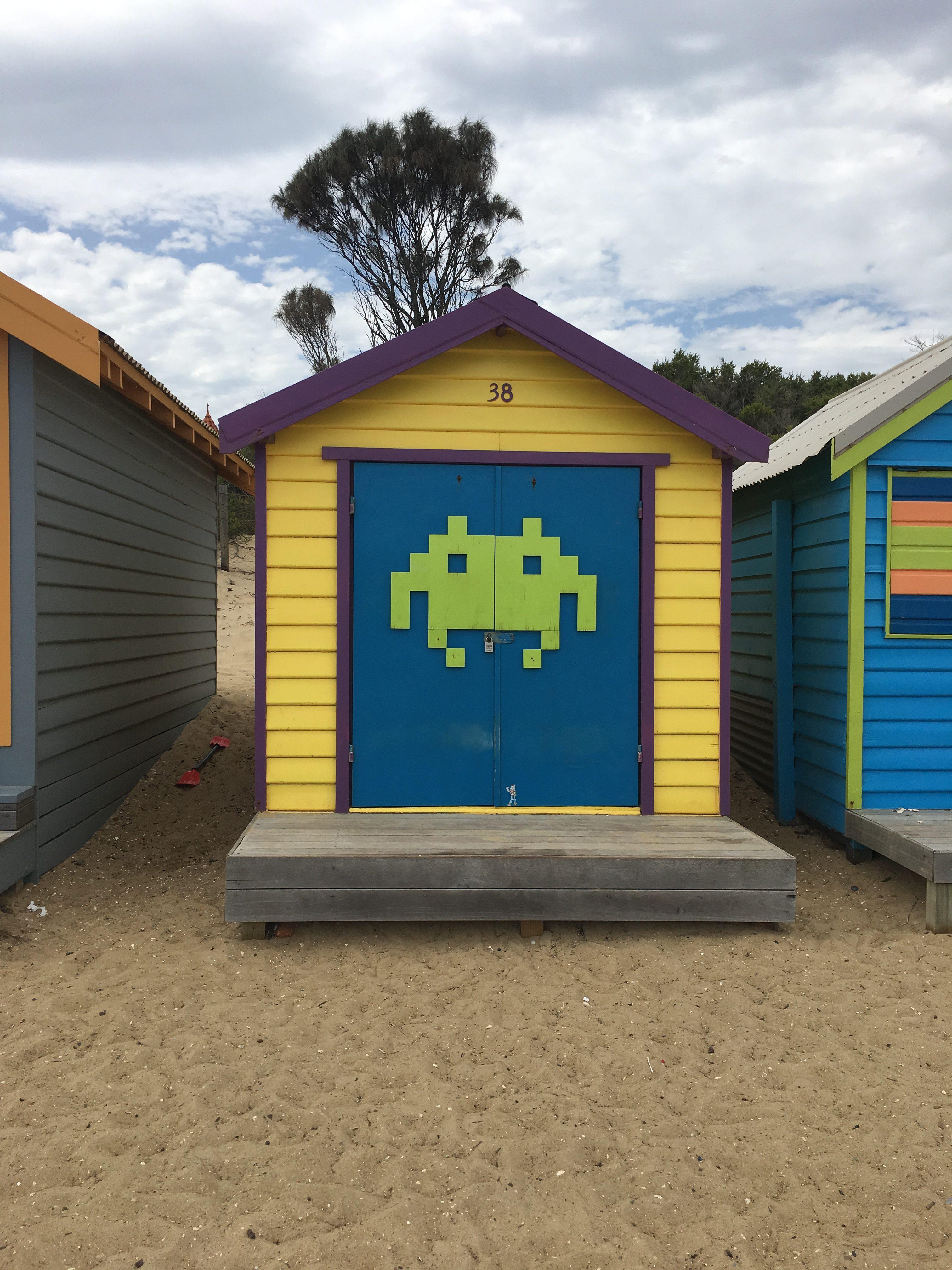 ブライトンビーチ小屋1