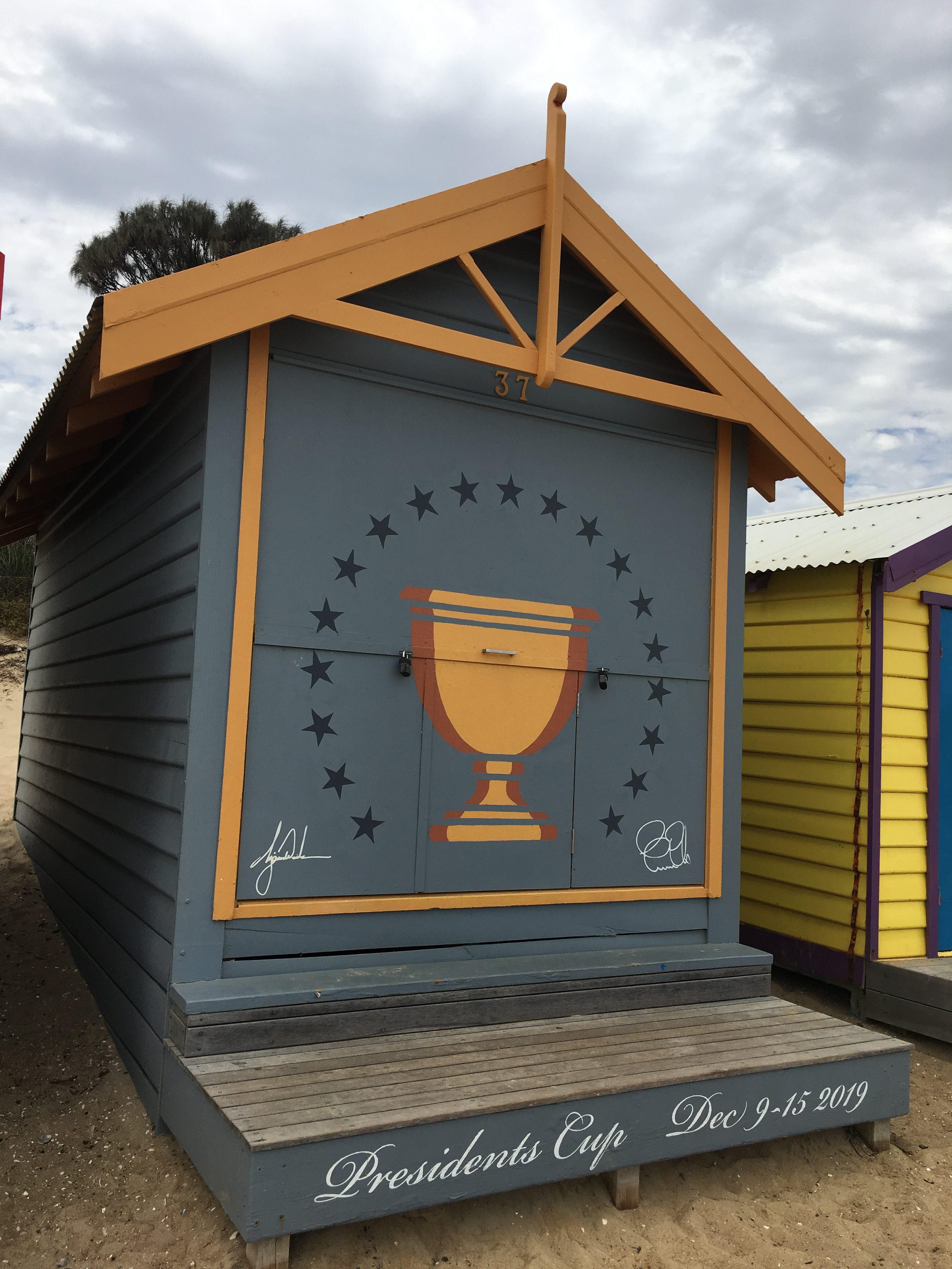 ブライトンビーチ小屋