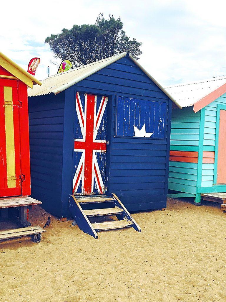 ブライトンビーチ小屋オーストラリア