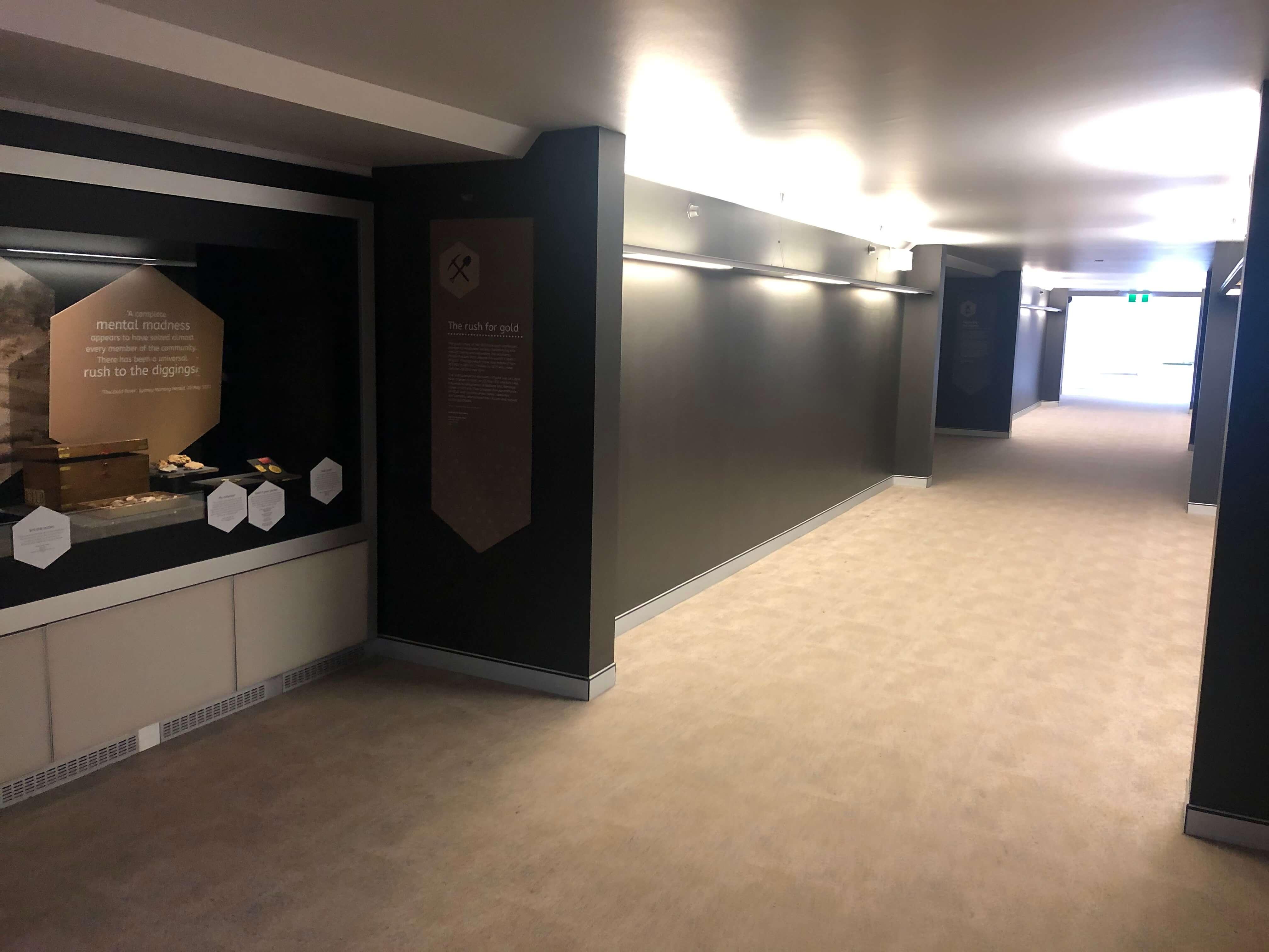 シドニー州立図書館の通路