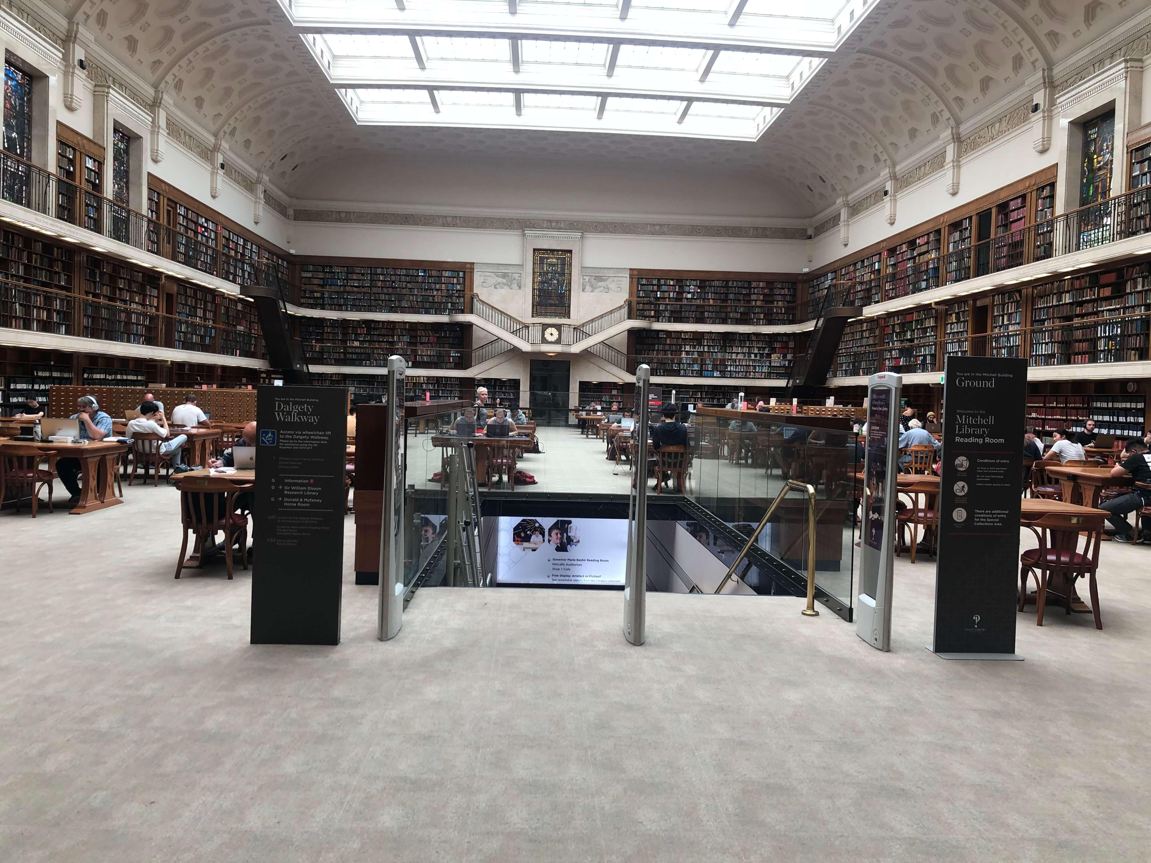 ハリーポッターの世界観を楽しめる図書館
