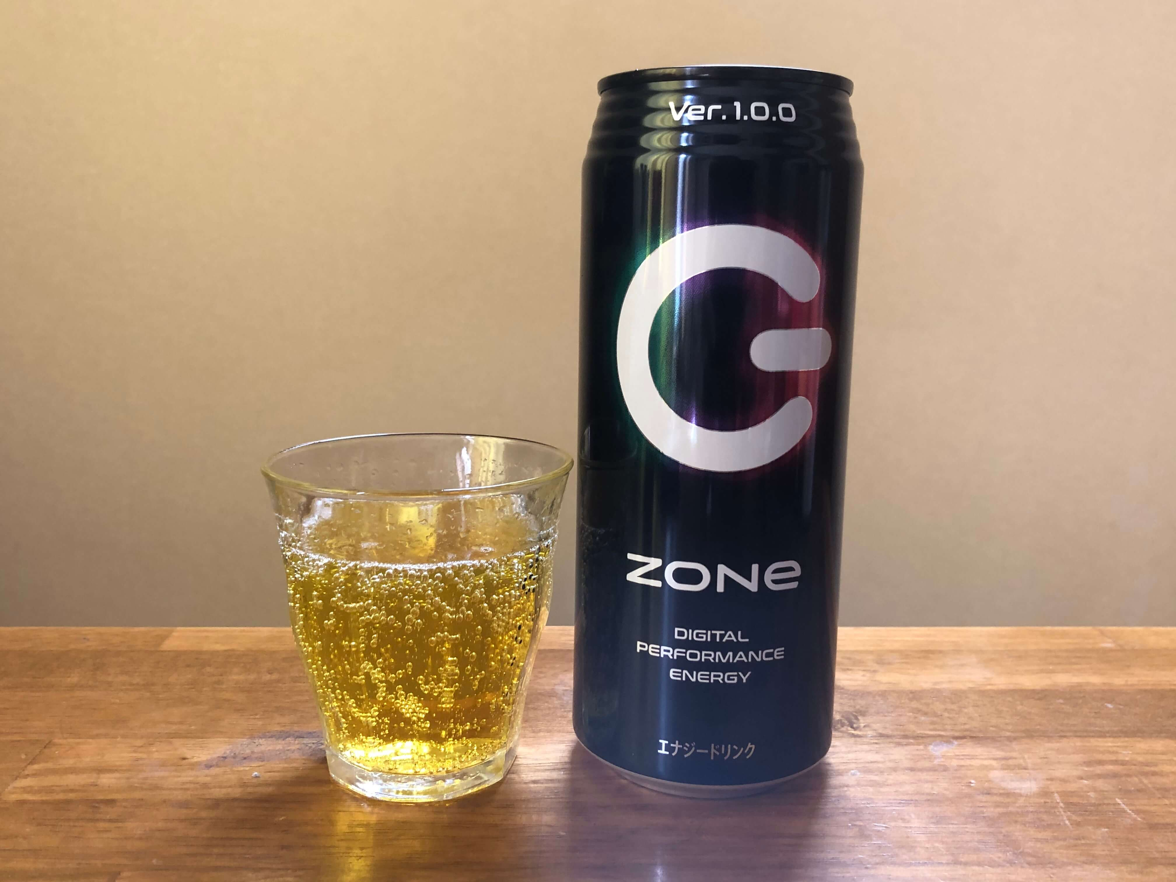 ZONeエナジードリンクの色味